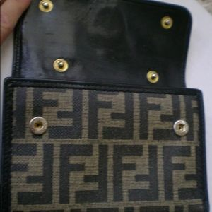 FENDI wallet$coin purse in one! Awesome